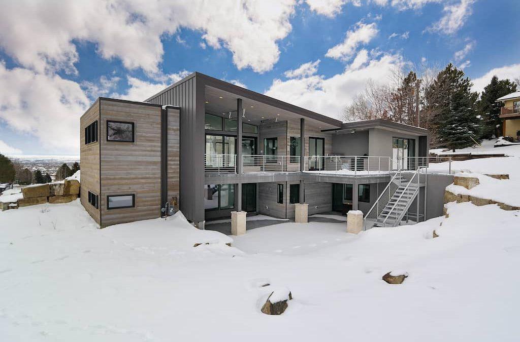 Custom Home Builder Billings Mt Beartooth View SAM 0905